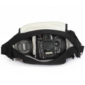 canvas SLR camera bag waterproof shockproof