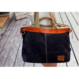 black Cross body handbag