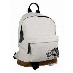 white cute backpack
