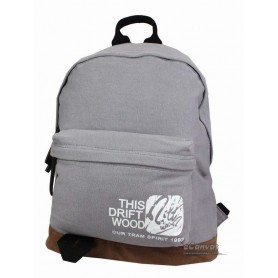 grey cute backpack