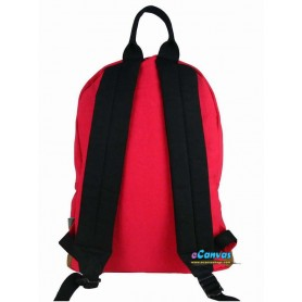 red cute backpack