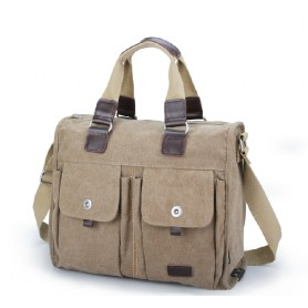 mens canvas satchel