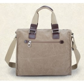 canvas Big messenger bag