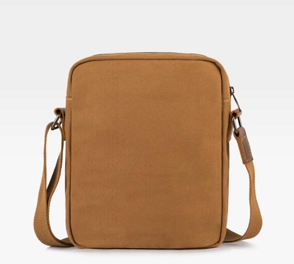 a72ed8343ed9 Canvas messenger bag men  over the shoulder bag ...