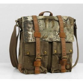 Camo Womens messenger bag