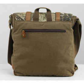 Camo tactical messenger bag