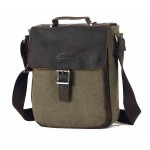 army green Simple Messenger Bag