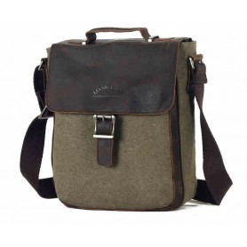 Retro Shoulder Bag For Men, Men's Simple Messenger Bag