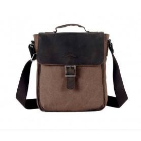 coffee Men's Simple Messenger Bag