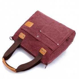 pruple fashion bag