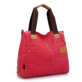 red  fashion bag