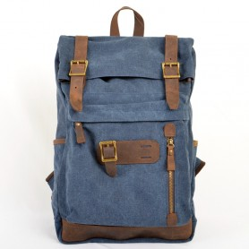 blue Genuine Leather Backpacks