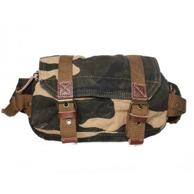 camo Canvas fanny pack