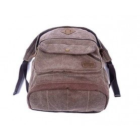 coffee Stylish Canvas Backpacks For School