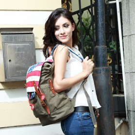 Designer Personalized Retro Rucksack Online Shopping