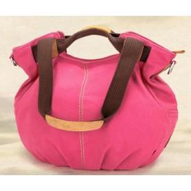 pink stylish handbag