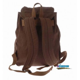 coffee canvas travel backpack