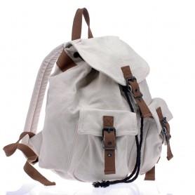 white Bike backpack