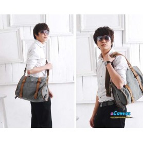 Canvas handbag for men
