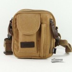 lumbar pack, canvas messenger shoulder bag, 3 colors