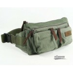 Canvas waist pack, tactical fanny pack, 3 colors