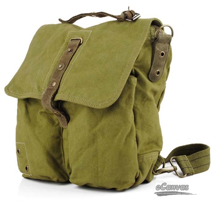 Army Green Backpacking Messenger Bag Army Backpack E