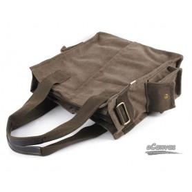 plain canvas handbag