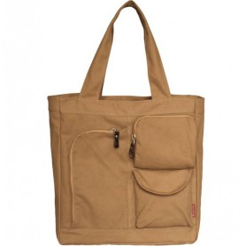 khaki High-capacity bag