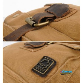 khaki durable Cross-Body Bag