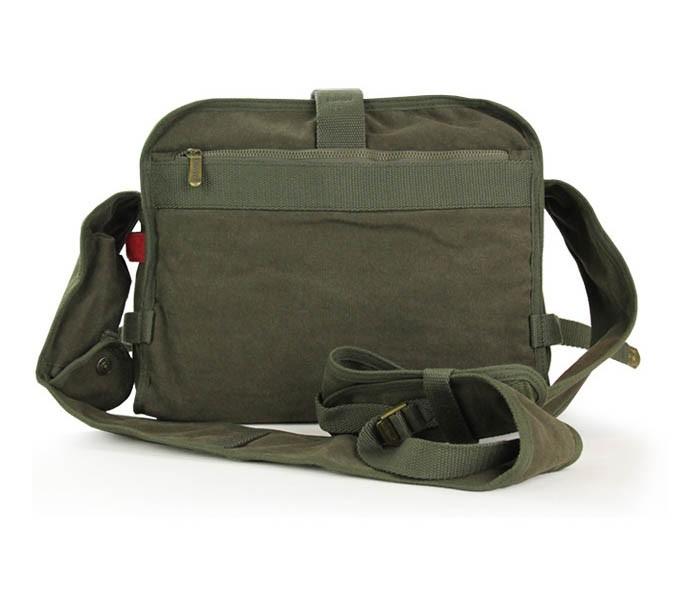 Messenger bag for men, computer bag, 3 colors - E-CanvasBags