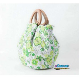 green cheap canvas bag