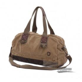 khaki aslant Bag