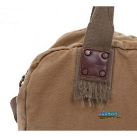 Canvas aslant Bag