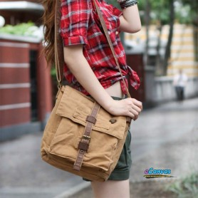 military messenger bag for women