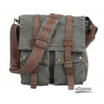 army green womens messenger bag