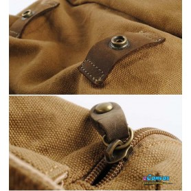 rucksacks made of 100% certified Organic Canvas fabric