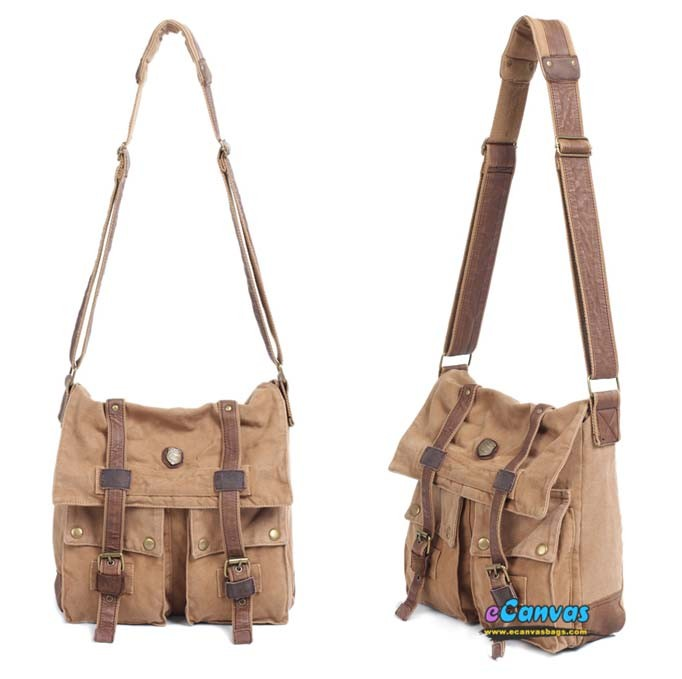 Yellow Womens Messenger Bag Tactical