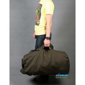Army green outdoors travel shoulders bag for men