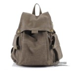 coffee Fashion canvas backpack