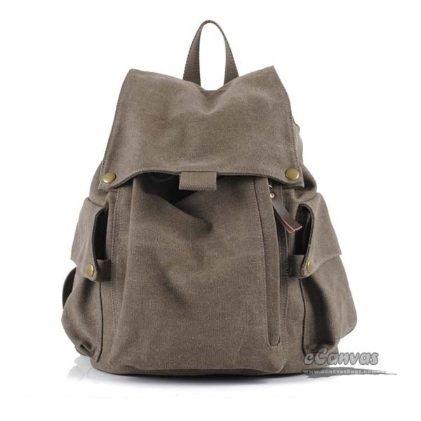 f577fcda1dbb coffee Fashion canvas backpack · army green Fashion canvas backpack · khaki  Fashion canvas backpack · casual bag for women ...