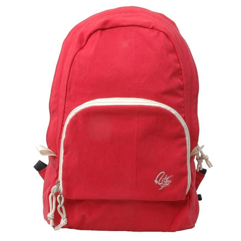 Girl Backpack Foldable Student Book Bag Black Amp Red E