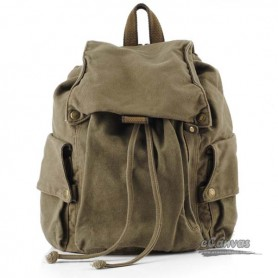army green Fashion canvas backpack