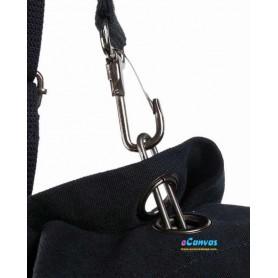 black outdoors travel shoulders bag