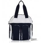 blue messenger shoulder Bag