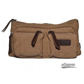 khaki Canvas waist pack