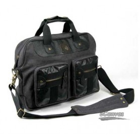 dark grey casual briefcase