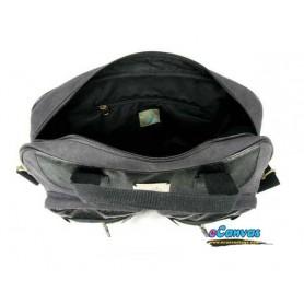 dark grey messenger hand Bag