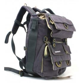 dark grey Camera backpack with tripod holder