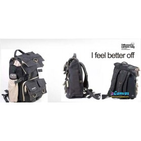 Camera backpack with tripod holder