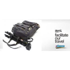 dark grey Camera backpack